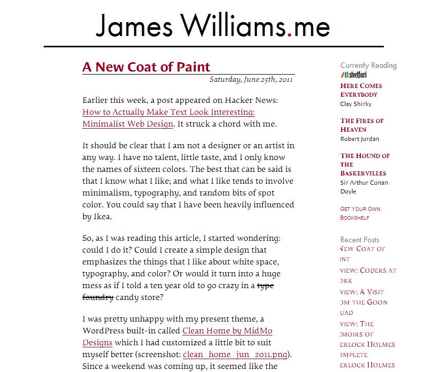It Takes All Types James Williams Dot Me